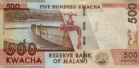 MALAWI P. 61 500 K 2012 UNC - Malawi