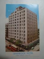 SHAMROCK HOTEL. KOWLOON - HONG KONG, CHINA, 80s. UNUSED. - China (Hong Kong)