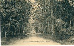 86 - Coulombiers : Le Château - Le Parc - Autres Communes