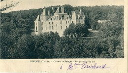 86 - Béruges : Le Château - Vue Prise Du Sud Est - Autres Communes
