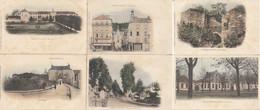 02  CHATEAU THIERRY  Rue Du Pont + Avenue De La République + La Charité + Porte St Jean + St Pierre + Ecole - Chateau Thierry
