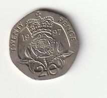 GREAT BRITAIN 20 PENCE - 1997 - 1971-… : Monedas Decimales