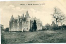 86 - Rom : Château Du Boux - Autres Communes