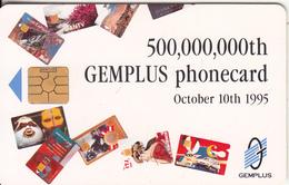 FRANCE - 500000000th Phonecard, Telecom 95 Geneva, Gemplus Demo Card, 10/95 - Altri