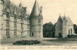 86 - Gençay : Château De La Roche Et La Chapelle - Gencay