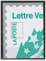 Bloc Gommé Marianne Beaujard Lettre Verte Phil@poste Sans Valeur Faciale Représentation Quart Du Timbre 4593 - Blocs & Feuillets