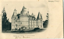 86 - Gençay : Château De La Roche - Vue Prise Au Sud Est - Gencay