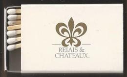Luciferdoosje. RELAIS & CHATEAUX. Matchbox Allumettes Luciferdoos Lucifer - Matchboxes