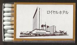 Luciferdoosje. ROYAL HOTEL OSAKA JAPAN.. Matchbox Allumettes Luciferdoos Lucifer - Matchboxes