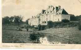 86 - Iteuil : Château De La Troussaye - Vue Prise Du Parc ... - Autres Communes