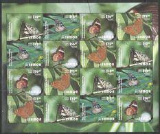 SAMOA - MNH - Animals - Insects - Butterflies 2015 - Schmetterlinge