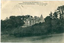 86 - Vivonne : Château De Celle-Vezay - Vivonne
