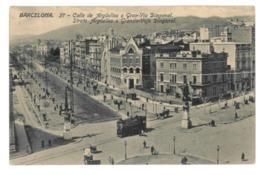 Espagne. Barcelona, Calle De Argüelles O Gran-Via Diagonal (3783) - Barcelona