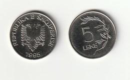5 LEKE - ALBANIA - 1995 - Albania
