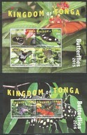 KINGDOM OF TONGA - MNH - Animals - Insects - Butterflies 2015 - 2016 - Papillons