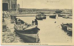 50 -Auderville : Rentrée Du Canot De Sauvetage . - France