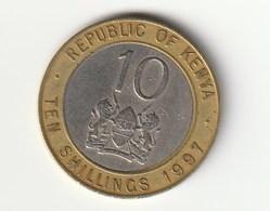 KENIA - 10 SHILLINGS - 1997 - Kenia