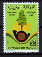 Maroc 1982 Journée Mondiale De La Forêt MNH - Marocco (1956-...)