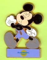 Pin's BD Mac Do McDonald's McMorning Disney Mickey Marche - #064 - McDonald's
