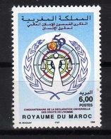 Maroc 1998 Déclaration Universelle Des Droits De L'Homme MNH - Marocco (1956-...)