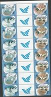 8x IRAN - MNH - Animals - Birds - WWF - Uccelli