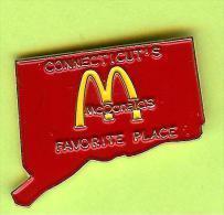 Pin's Mac Do McDonald's Connecticut's Favorite Place - 4M13 - McDonald's