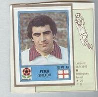 SHILTON...ENGLAND. ...ALBUM PANINI EUROPA 1980...FOOTBALL..TRADING CARDS..FIGURINE...CALCIO - Edizione Italiana