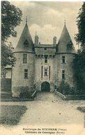 86 - Vivonne : Château De Cercigny - L' Entrée - Vivonne