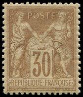 ** TYPE SAGE - 80   30c. Brun-jaune, Très Bon Centrage, TTB - 1876-1878 Sage (Type I)