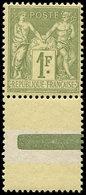 ** TYPE SAGE - 82    1f. Olive Clair, Bon Centrage, Bdf, TB - 1876-1878 Sage (Type I)