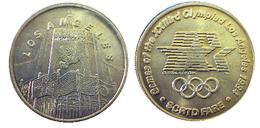 03883 GETTONE JETON TOKEN TRASPORTO TRANSIT GAMES OF THE XXIIIrd OLYMPIAD LOS ANGELES 1984 SCRTD LOS ANGELES - USA