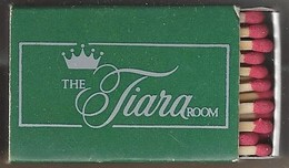 Luciferdoosje. THE TIARA ROOM.PRINCESS HOTELS. PRINCESS BERMUDA. Matchbox Allumettes Luciferdoos Lucifer - Matchboxes