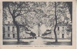 LANDES - MORCENX - Mairie Eglise Justice De Paix     PRIX FIXE - Morcenx