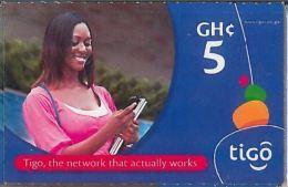 PREPAID PHONE CARD GHANA (U.41.2 - Ghana