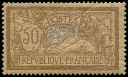 ** EMISSIONS DU XXème SIECLE - 120d  Merson, 50c. Brun Et Gris, Papier GC, TB - Nuevos