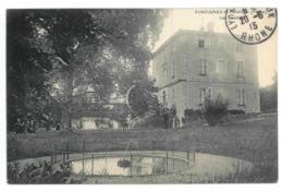 69 Fontaines Saint Martin, Les Guettes. Carte Inédite (3787) - Autres Communes