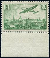 ** POSTE AERIENNE - 14  50f. Vert-jaune, Bdf, Frais Et TTB - Aéreo