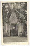 Cpa Brésil Brasil Rio De Janeiro Jardim Botanico Portao Colonial Ed Copag S.paulo - Rio De Janeiro