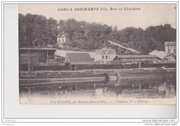 Au Plus Rapide Bas Meudon Par Bellevue Seine Et Oise Dard Deschamps Fils Bois Et Charbons Péniche - Meudon