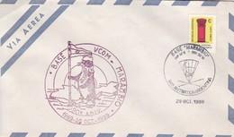 ANTARTIDA ARGENTINA. BASE VCOM-MARAMBO, 20 ANIV 1969-1989.- BLEUP - Research Stations