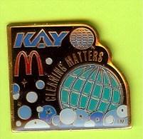 Pin's Mac Do McDonald's Kay Cleaning Matters - 6O01 - McDonald's