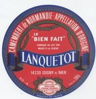 Etiquette Camembert : Les Veys - Cheese