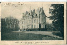 86 - Marçay : Château De La Badonnière - Vivonne
