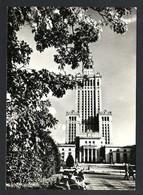 Polonia. Warszawa *Palac Kultury I Nauki* Edit. Ruch. Nueva. - Polonia