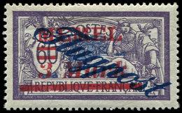 * MEMEL PA 14 : 3m. Sur 60c. Violet Et Bleu, TB - Memel (1920-1924)