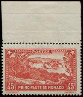 ** MONACO 123a : 45c. Rouge-brique, Bdf, Frais Et TB - Mónaco