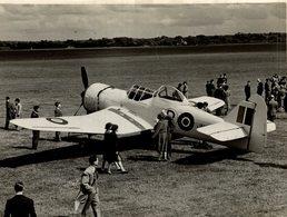 MILES MARTINET  WWII   21 * 17 CM Aviation, AIRPLAIN, AVION AIRCRAFT - Aviación