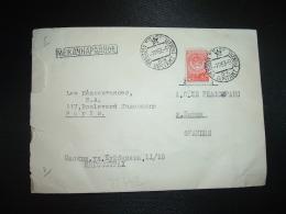 LETTRE Pour La FRANCE TP 40K OBL.7 11 53 MOCKBA - 1923-1991 URSS