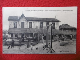 CARNON PLAGE CAFE RESTAURANT BOUSQUET - Autres Communes