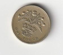 ONE POUND - REGNO UNITO - 1984 - 1971-…: Dezimalwährungen